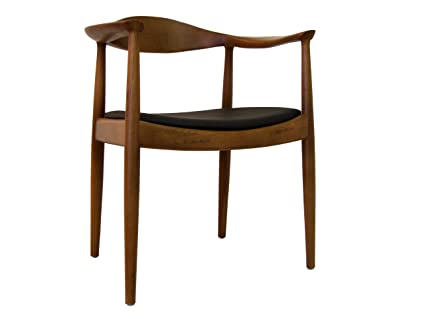 Control Brand DC604BROWN The Kennedy Chair In Walnut Finish Solid Ash Timber