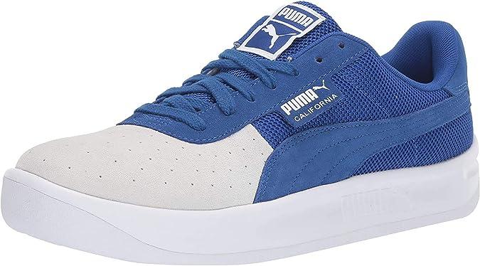 Buy Puma Men's California Summer Sneaker, White, Size 11.0 ...