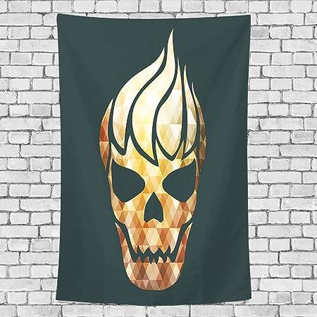 GULTMEE Tapiz para decoración del hogar, diseño de Corazones ...