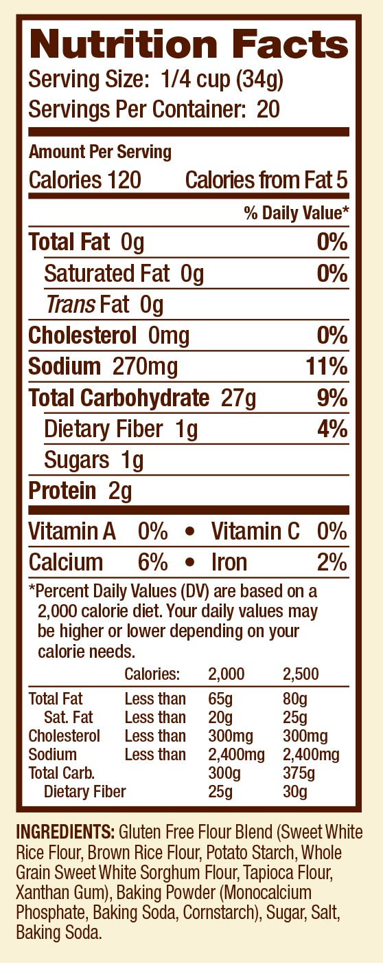 Bob's Red Mill Gluten Free Biscuit & Baking Mix, 24-ounce by Bob's Red Mill (Image #5)