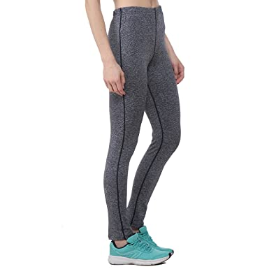 d85cd312e50dd CHKOKKO Polyester Women Highwaist Tights Active Sports Gym Yoga Pants,  Blue, X-Large: Amazon.in: Clothing & Accessories