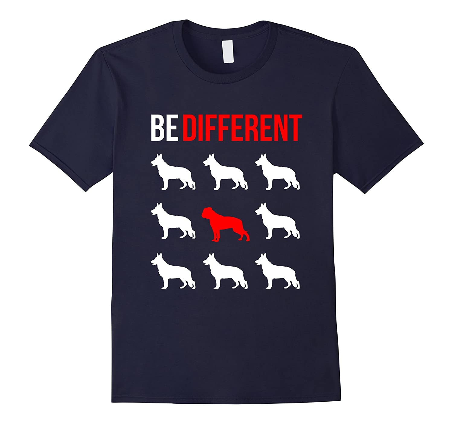American Bulldog Shirt | Be different unique dog lovers Tee-Art