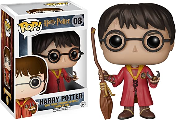 Pop! Movies - Muñeco cabezón Harry Potter Quidditch (Funko 5902 ...
