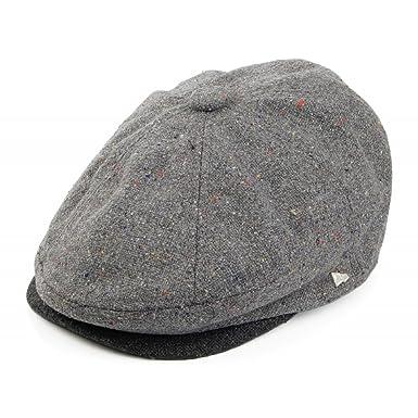 New Era EK Gatsby Newsboy Cap - Grey Grey XLarge - 60cm  Amazon.co ... 3bf6905f1dc2