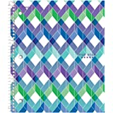 """Five Star Spiral Notebook, 1 Subject, College Ruled Paper, 100 Sheets, 11"""" x 8-1/2"""" Sheet Size, Design Will Vary (06348)"""
