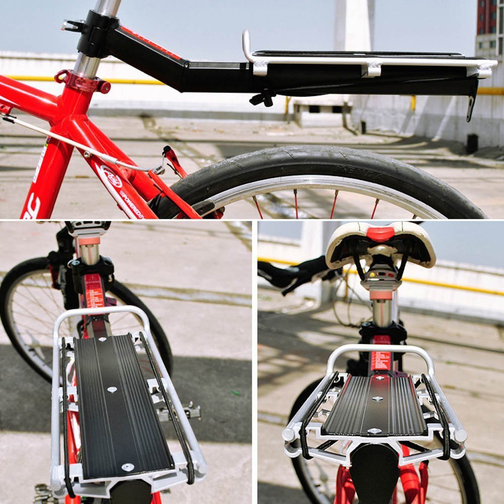 Rear Outdoor Cargo Loading Seat Post Bike Accessories Shelf Bicycle Rack TY