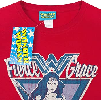Officially Licensed Wonder Woman Women/'s T-Shirt S-XXL Sizes