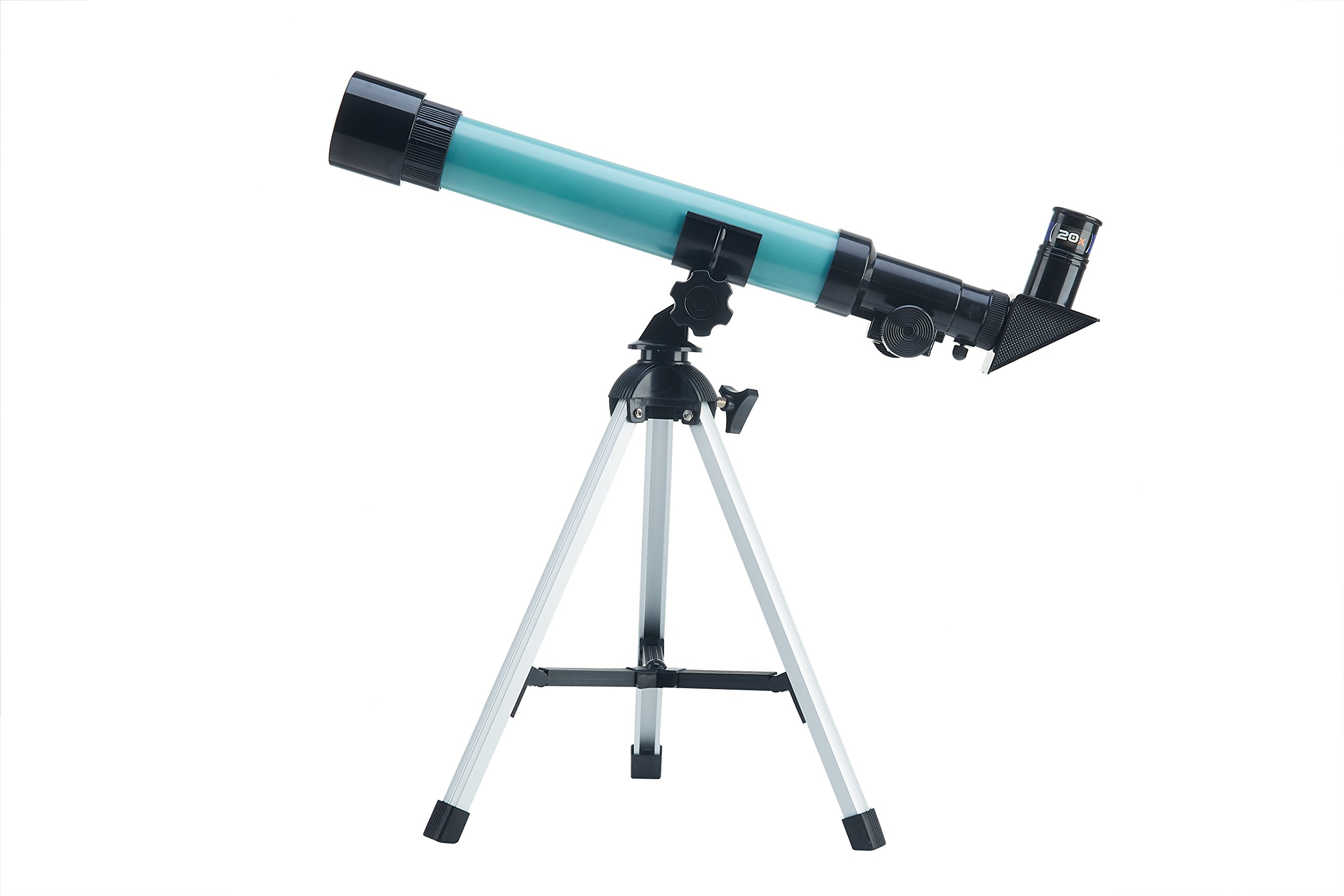 Telescope for kids, Chilren's Educational Refraction Type Scientific Telescope, Plastic Toy Telescope for Beginners, 90 Magnification Eyepieces and Tripod Enjoy Steady Observation of Astronomy.