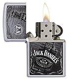 Zippo Jack Daniel's Satin Chrome Lighter