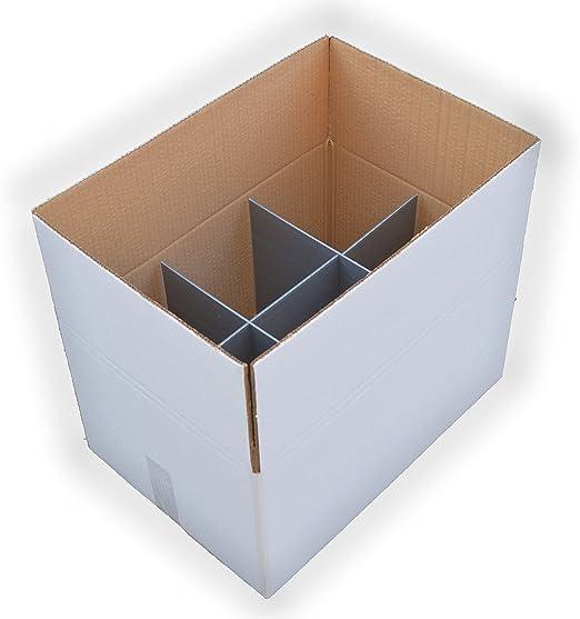 Caja de cartón separadores para archivador con forro interior ...