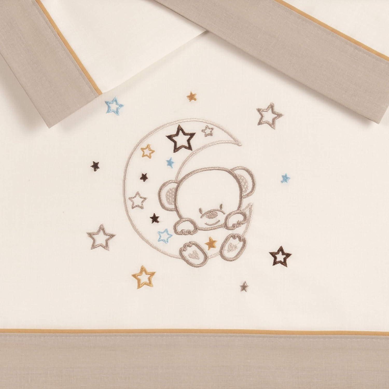 Pekebaby LUNOSO - Tríptico sábanas algodón coche (35 x 75 cm ...