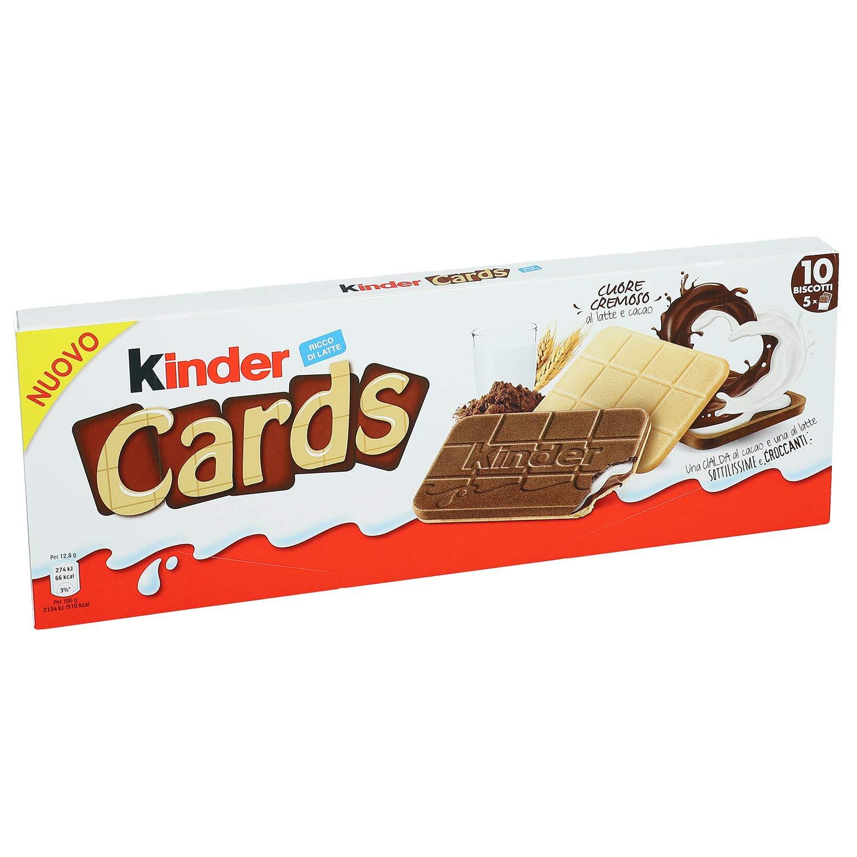 Kinder Cards, 2x128gr (2x5 pcs)