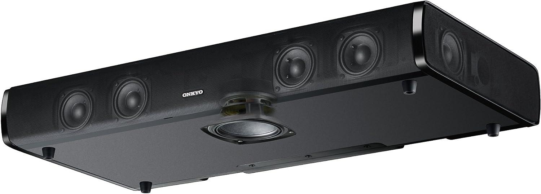 Aurasphere 3D-Klang, Bluetooth, Dolby Digital, integrierter Subwoofer schwarz Onkyo LS-T10 TV-Lautsprechersystem