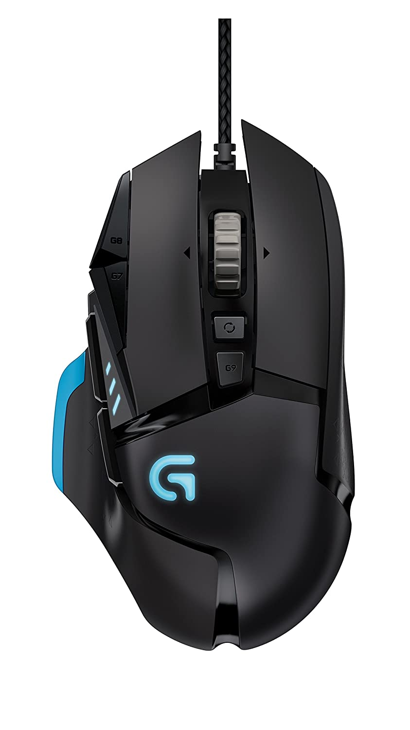 Logitech G502 Proteus Core - Ratón Gaming (compatible con PC y Mac, con cable USB), negro