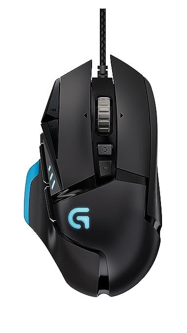 504 opinioni per Logitech G502 Proteus Core Gaming Mouse, Nero/Antracite