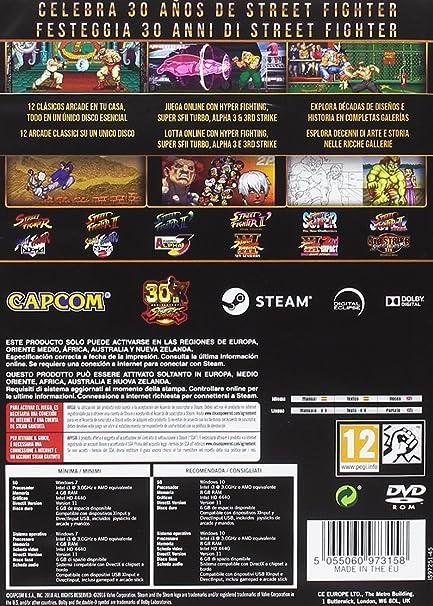 Street Fighter 30th Anniversary + Konix Ragnarok - Auriculares con micrófono para juegos, color negro: Amazon.es: Videojuegos