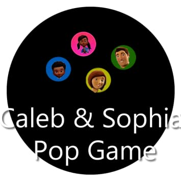 amazon com caleb and sophia pop game appstore for android