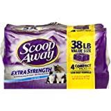 Scoop Away Extra Strength Clumping Cat Litter Scented - 4 PK, 9.5 LB (4 pck) (4pack)