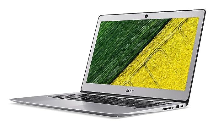 PC Portable - Acer Swift 3 SF314-51-39ZJ Argent - Intel Core i3-6006U 4 Go SSD 128 Go 14
