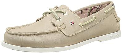 Tommy Hilfiger M1285artha 8d, Chaussures Bateau Femme, (Desert Sand 932), 41 EU