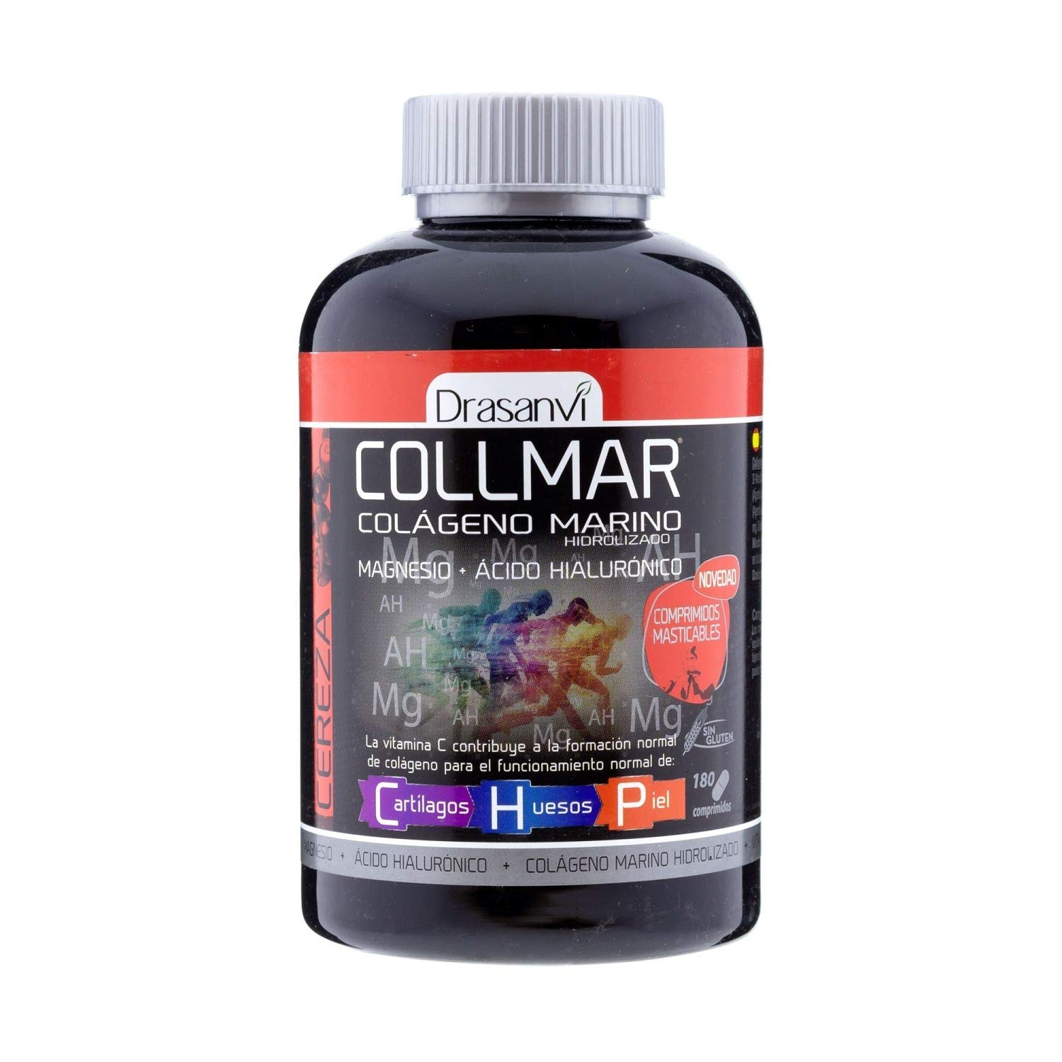 Amazon.com : Drasanvi Collmar Marine Collagen With Magnesium Cherry Flavour 180 Capsules - Take Care of Your Body with Chewable Marine Collagen - Nourish ...