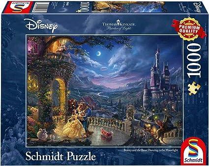 Schneewittche Schmidt Jeux 59625-Puzzle Thomas Kinkade 1.000 Pièces-Disney