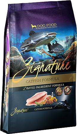 Zignature 12713156 Catfish Formula Dry Dog Food, 27 Lb