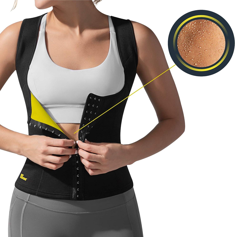 HOT SHAPERS Cami Hot Waist Cincher – Women Slimming Sweat Vest & Sauna Body Shaper