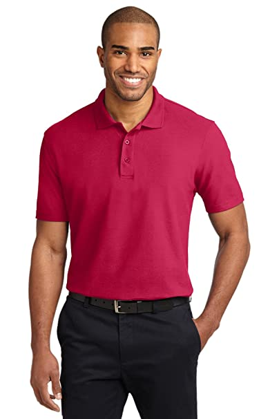 c21b7ffc1 Port Authority Men's StainResistant Polo at Amazon Men's Clothing ...