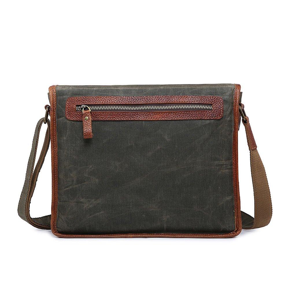 Men/'s Leather Bag Vintage Shoulder Cross Body Handbag Tote Messenger Bag Satchel