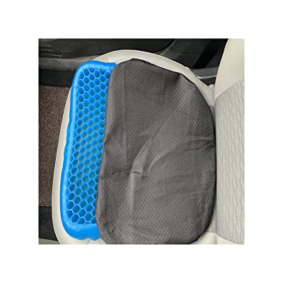 Baota Fashion 3D Honeycomb Ice Pad Gel Cushion Non Slip Soft Comfortable Outdoor Massage Office Chair Cushion Carpet,42X34X5 cm: Kitchen & Dining