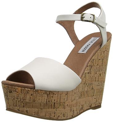 cd00649d7b Amazon.com | Steve Madden Women's Korkey Wedge Sandal | Platforms ...
