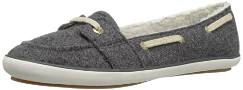 5508957debb Keds Women s Teacup Boat Wool Shearling Fashion Sneaker