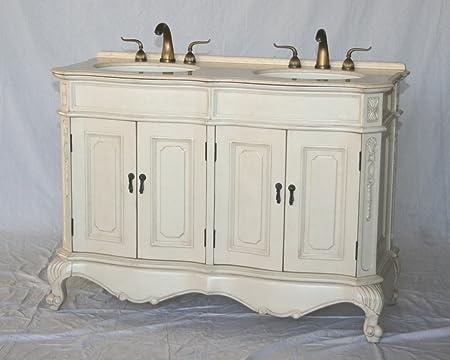 50 Inch Antique Style Double Sink Bathroom Vanity Model 5000 261 Be
