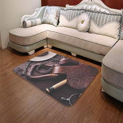Amazon.com : YOLIYANA Custom Carpet, Western Decor, for ...
