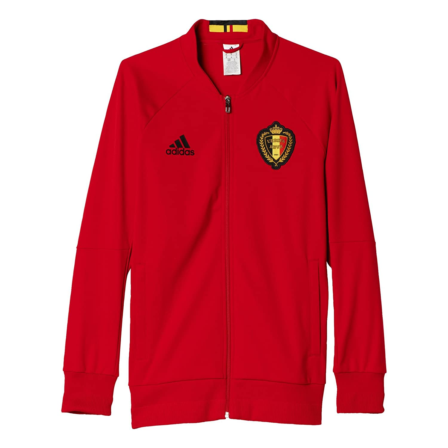 adidas Herren Belgien Anthem Trainingsjacke