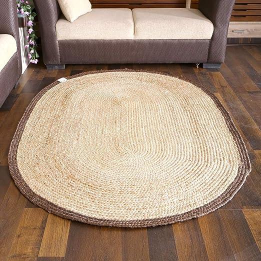 "2x3/""Feet Handmade Jute Rug Natural Jute Sqaure Rug Indian Handmade Handwoven Rug"