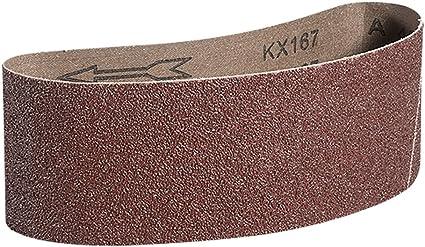 50 PCS 40//60//80//120 Grit  Sanding Belts Aluminium Oxide Sander 10 x 33