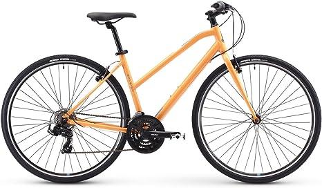 Raleigh Bikes Alysa 1 - Bicicleta híbrida para mujer, color ...