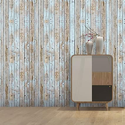 Removable Wallpaper Wood Look