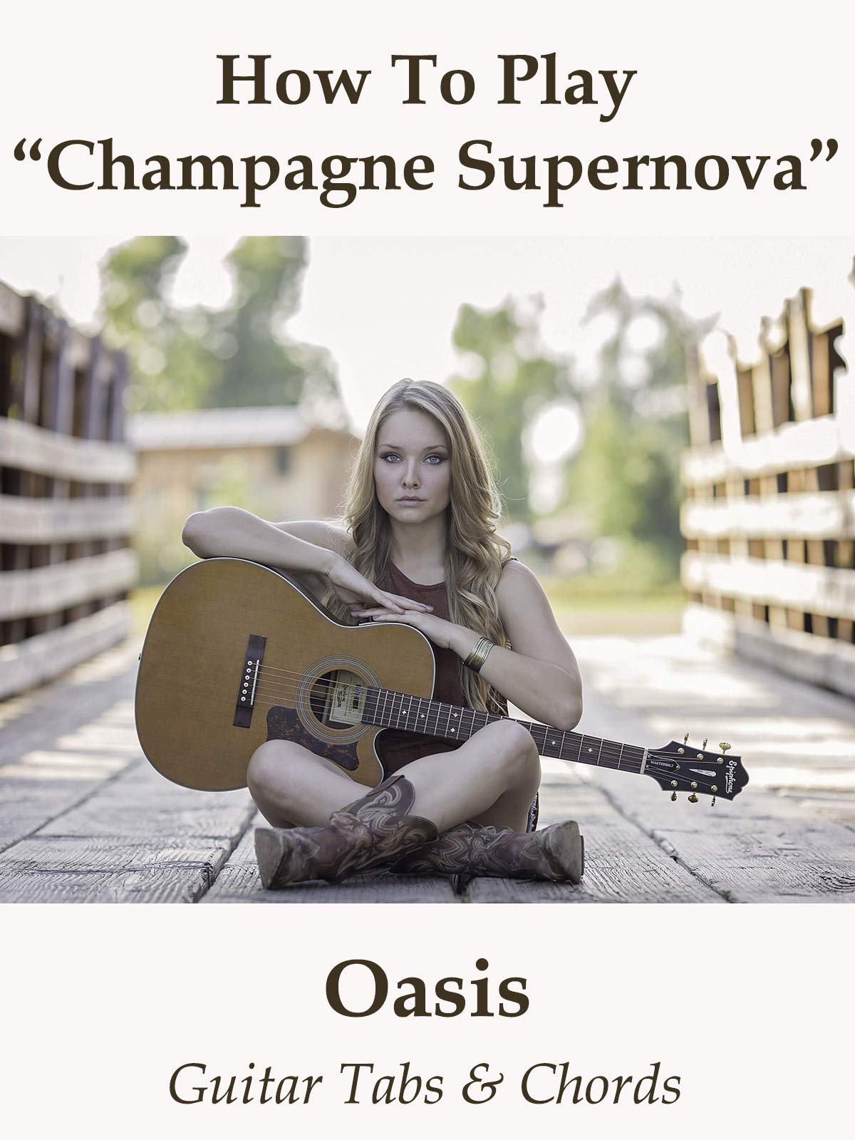 Amazon com: Watch How To Play Champagne Supernova By Oasis
