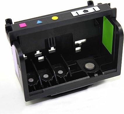 Ouguan - Cabezal de impresión remanufacturado para impresoras Hp ...