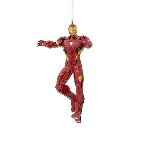 Amazon.com: Hallmark Christmas Ornament Marvel Avengers Iron Man ...