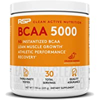 RSP NUTRITION BCAA 5000, BCAA Powder For Post Workout Muscle Recovery, Endurance & Energy, 5G Of Essential Branched…