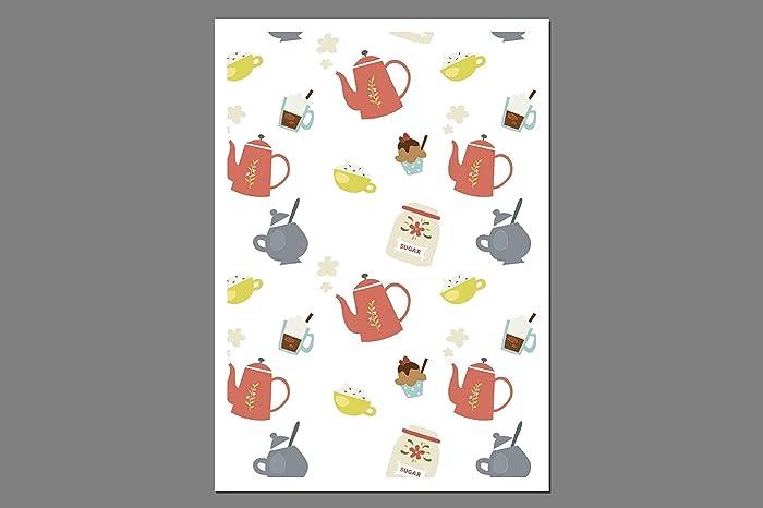 Postkarte Kaffee Und Kuchen Einladung Einladungskarte Gutschein