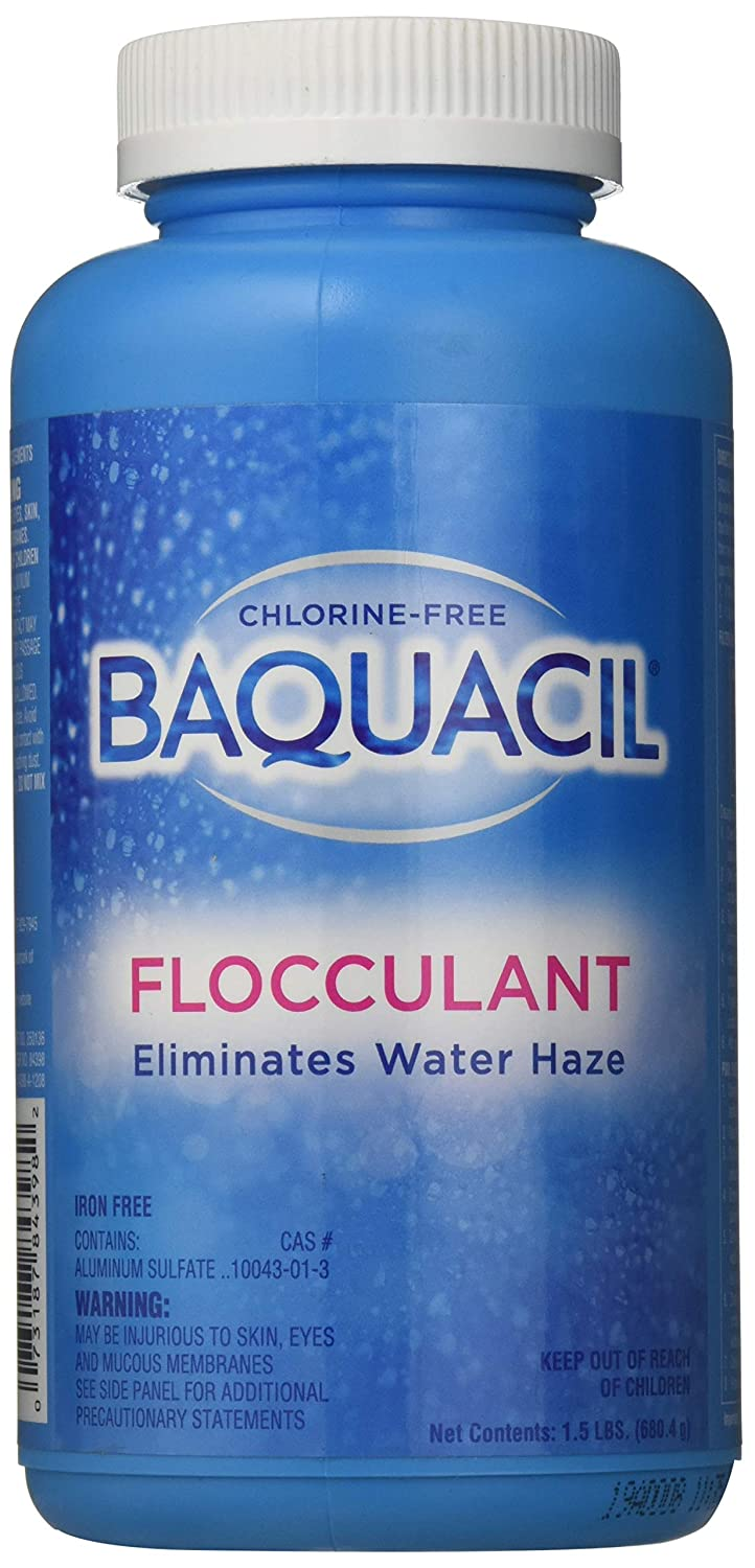 Baquacil 84398 Flocculant Swimming Pool Chemical, Support Products, Clear