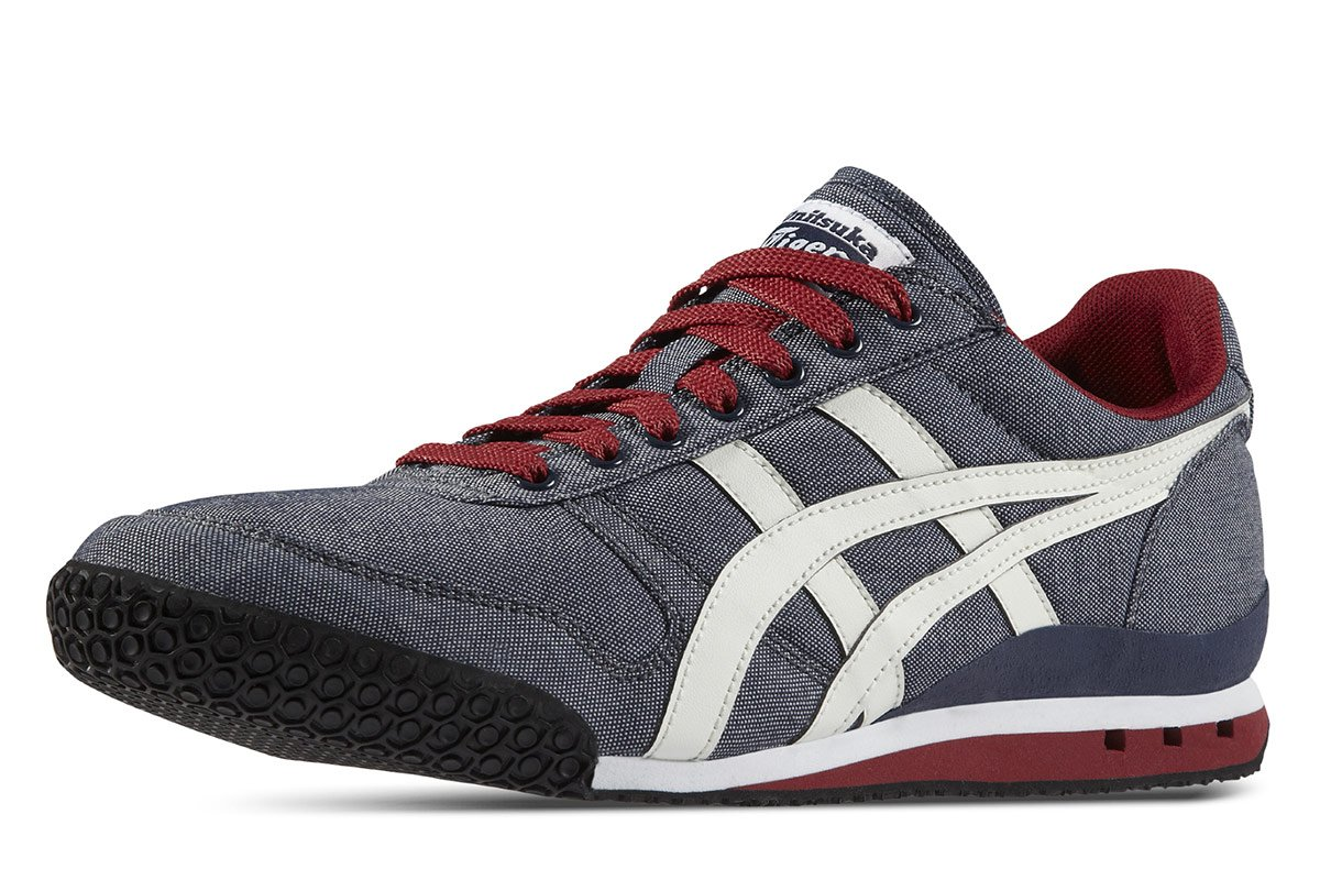 premium selection f72ef 664df ASICS Ultimate 81  Onitsuka Tiger  D520n-5001~Mens Trainers UK 3.5,  Grey White Red, UK3.5  Amazon.co.uk  Sports   Outdoors