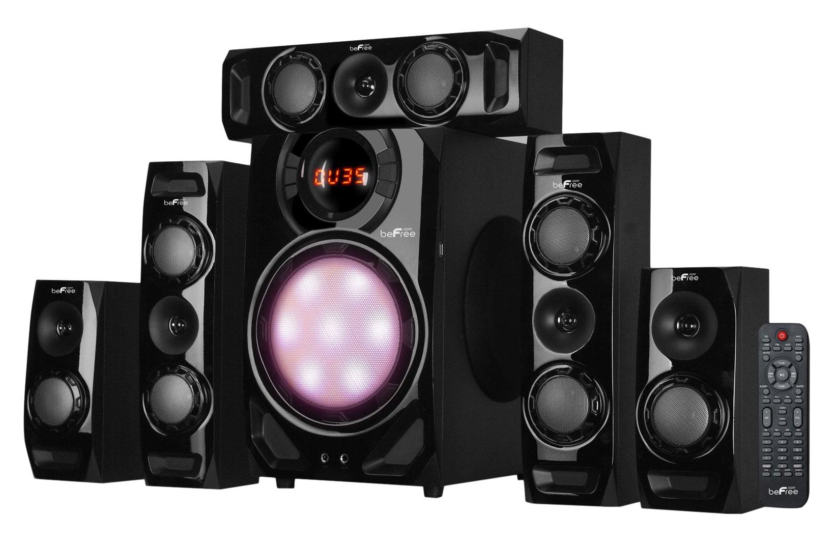 BEFREE SOUND BFS-510C Surround Sound Bluetooth Speaker System – Black by Unknown