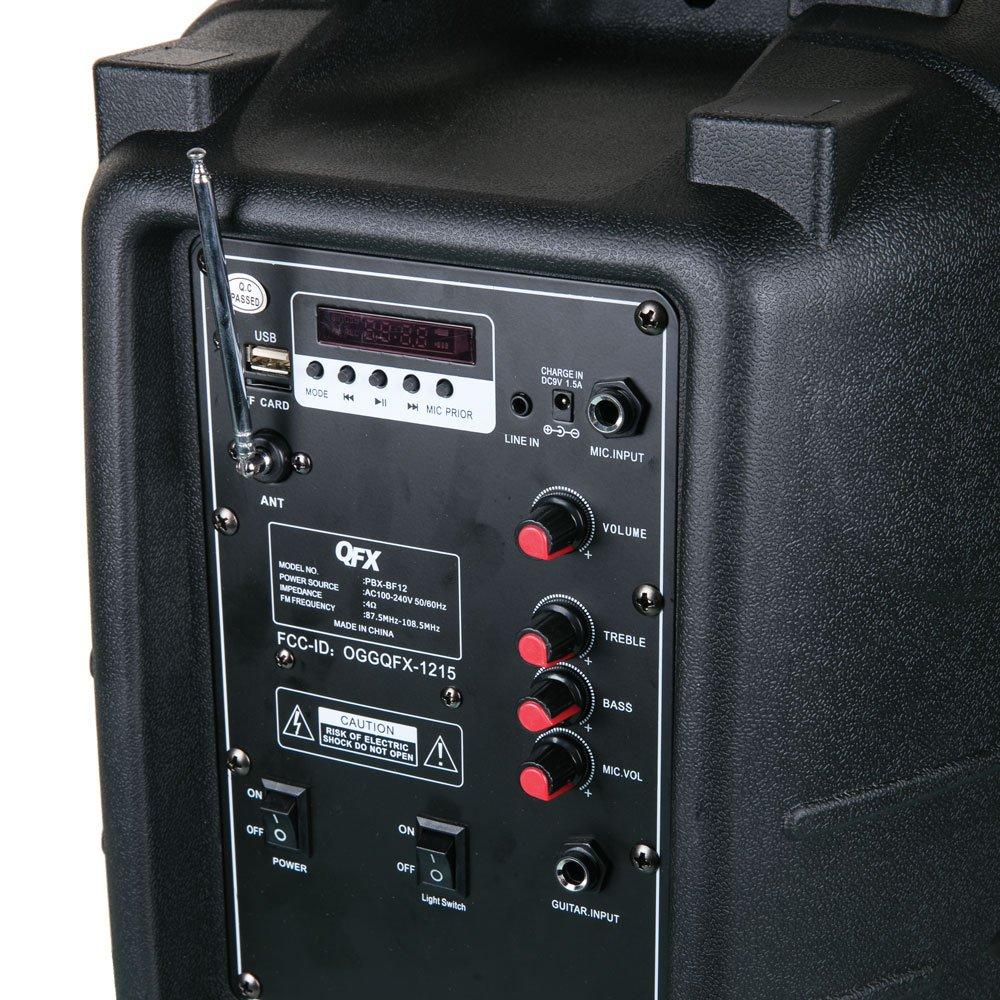 Amazon.com: QFX PBX-BF12 12