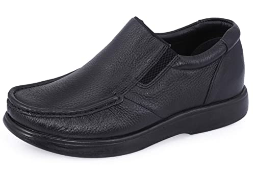Black Formal Slip-On Shoe at Amazon